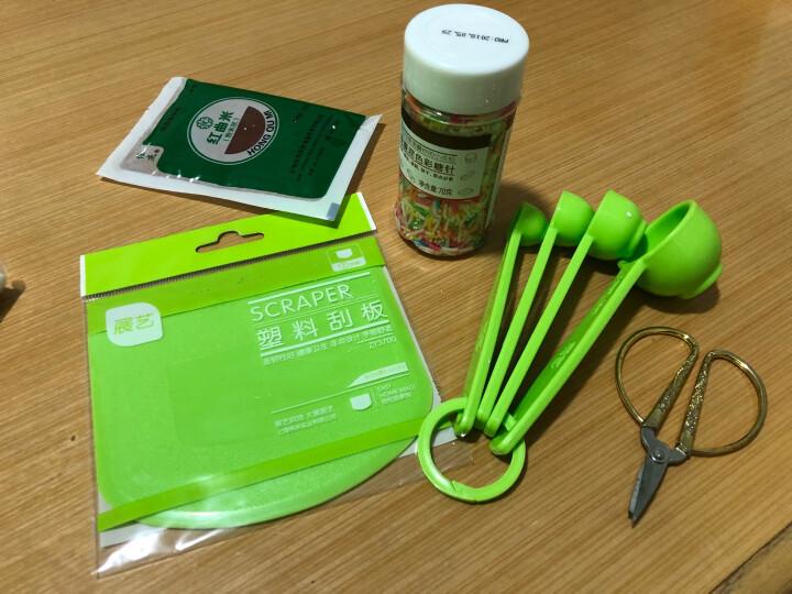 【展艺塑料刮板】蛋糕奶油刮刀月饼切面刀工具软质刮油板烘焙工具 ZY3700软质刮板 晒单图