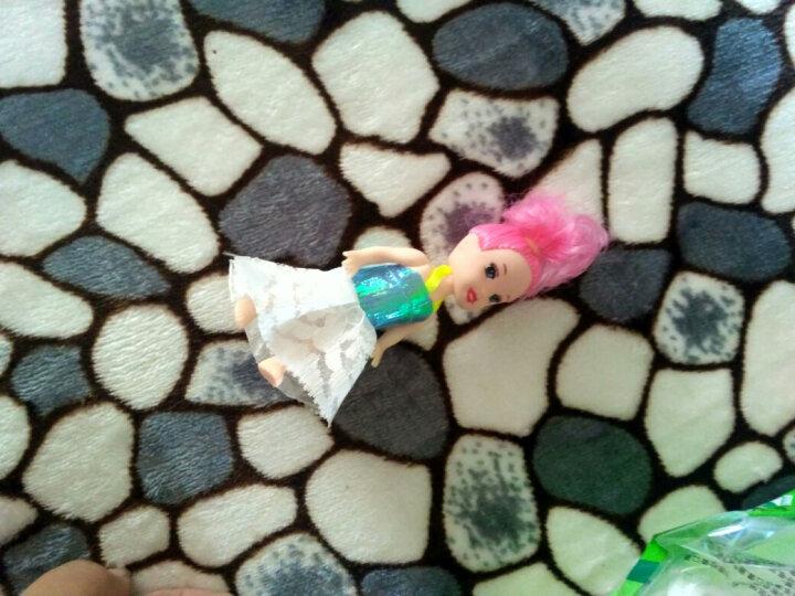 妙娃(MIAO WA) 娃娃 美人鱼芭比娃娃套装女孩公主玩具儿童过家家巴比大礼盒婚纱换装衣服洋梦幻- ZE3款(音乐闪光)(6公主) 晒单图