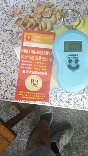 龙蓓便携式手提秤 手提称电子称50kg 厨房秤 手提电子秤迷你快递称精准弹簧秤 圆形笑脸手提秤(蓝色) 晒单图