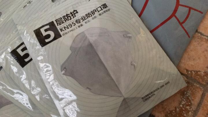 宜家依 四层 一次性 活性炭 口罩 防粉尘颗粒物 透气男女均码 盒装50 晒单图