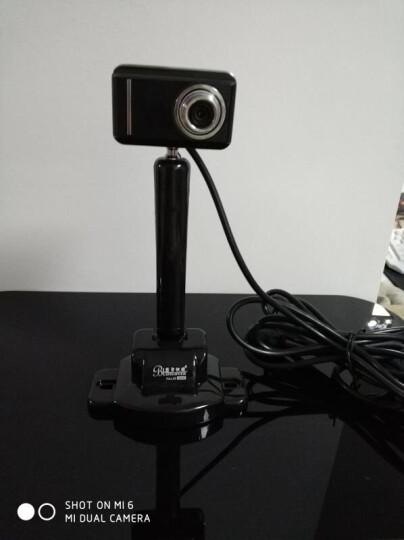 蓝色妖姬(BLUELOVER) 高清晰网络摄像头 直播主播吃鸡视频台式笔记本电脑通话智能美颜带夜视麦 960P(性价比高 商业家用都行) 晒单图