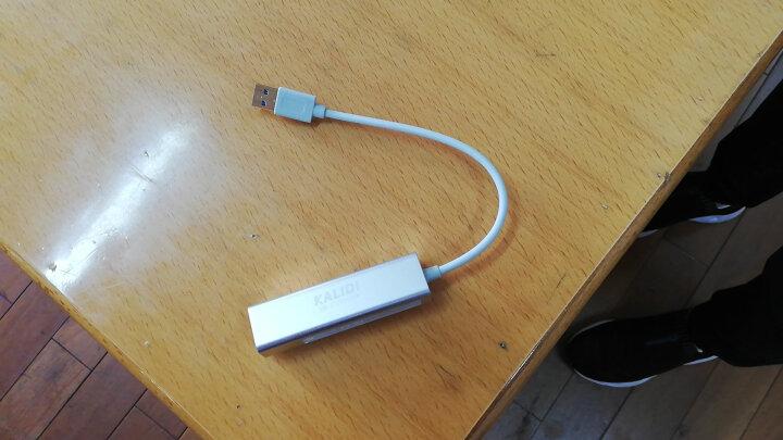 卡丽蒂(KALIDI) 卡丽蒂macbook苹果电脑转换器usb-c分线器网卡笔记本网线转接口拓展 USB 3.0千兆-苹果银 晒单图