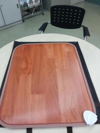 暖大师 电热地毯碳晶地暖垫地热毯办公室电脑桌用节能电热板炕暖脚垫地热垫 50*60cm 小兔 50*60cm 晒单图