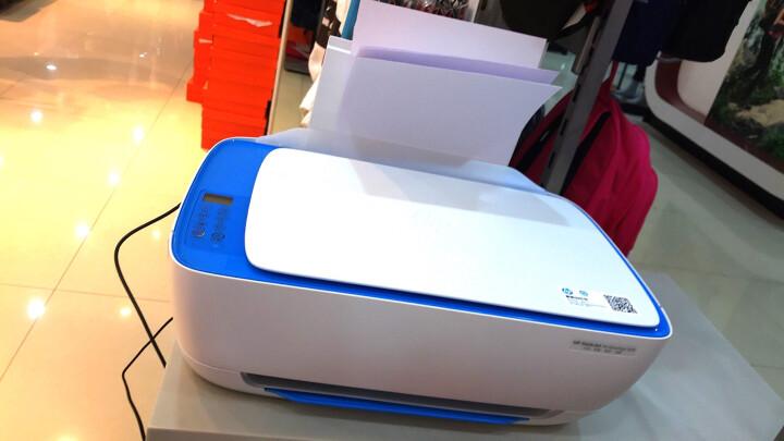 惠普(HP) 3638无线wifi彩色喷墨照片打印机一体机办公家用多功能学生作业QQ打印无边距打印 套餐四:3638+680墨盒3套+A6相纸100张 晒单图