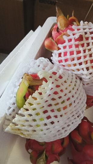 纯真鲜果 越南红心红肉火龙果 5个 总重约2kg 生鲜水果 晒单图