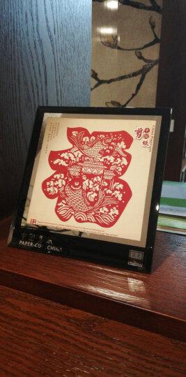 剪纸画镜框摆件 特色小礼品送老外 中国风 出国礼物 手工艺品 办公桌装饰摆件 鱼跃龙门 晒单图