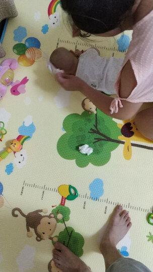 zak!双面加厚宝宝爬行垫爬爬垫 XPEbaby猫婴儿游戏毯防滑地垫 200*180*2cm 晒单图
