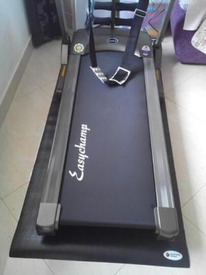 好家庭 家用跑步机多功能电动折叠静音走步机折叠机械室内运动健身房器材蓝屏 9107 9107单功能版 晒单图