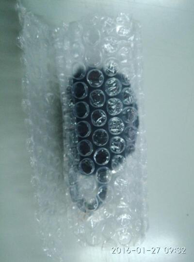 斯丽卡 獭兔毛球钥匙扣车用毛绒挂饰女士编织绳钥匙链钥匙环时尚包挂件 黑色毛球 晒单图