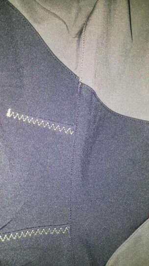 极星户外男女秋冬防风透气登山徒步软壳长裤AGPA21268 女-黑色 M 晒单图