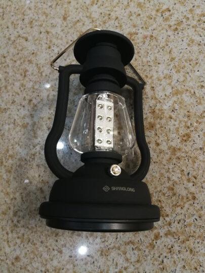 尚龙户外营地灯 16颗LED帐篷灯 内置锂电池太阳能和手摇两种充电模式 SL-E32 晒单图