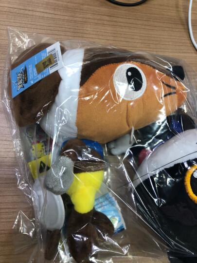 上海美术电影制片厂 官方正版 迷你Q版黑猫警长一只耳毛绒玩具布艺玩偶公仔儿童生日礼物 (套装)黑猫警长+一只耳 送(贴纸、徽章、礼袋、电子卡) 晒单图
