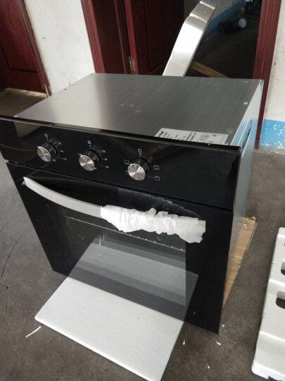 乐创(lecon)嵌入式电蒸烤箱家用智能触控内嵌式蒸烤箱大容量家用电蒸箱纯蒸炉蒸箱 ZS68A21D黑晶蒸箱 晒单图