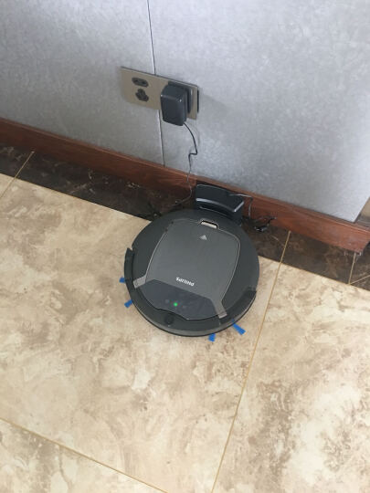 飞利浦(PHILIPS)扫地机器人扫地机拖地机一体机APP控制智能家用吸尘器FC8932/81 晒单图