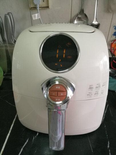 现代 DF-9500三代空气炸锅 电炸锅家用无油智电烧烤炉烤肉机薯条机 晒单图