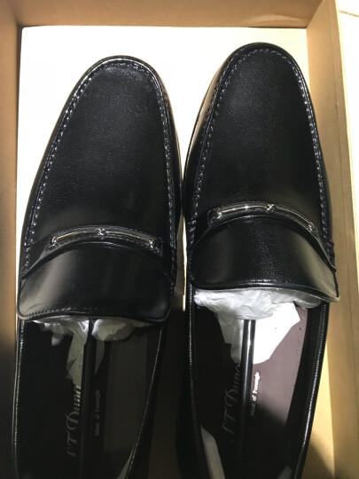 S.T.Dupont/都彭 男士商务休闲套脚羊皮男鞋 时尚G19147610 啡色 42 晒单图