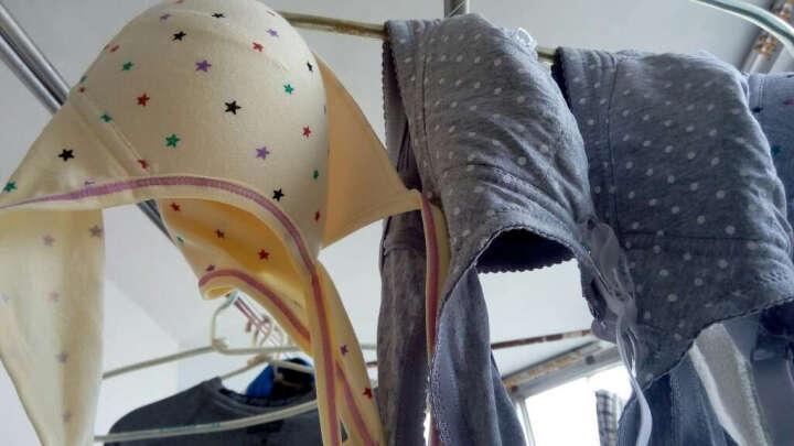 幻薇少女文胸2件装少女内衣背心式棉料日系可爱儿童发育期无钢圈学生胸罩 白色背心共2件 80/XL(建议下围73-77CM) 晒单图