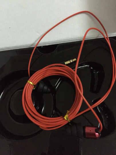 英创EP-H260 入耳式监听耳机/耳塞 专业喊麦K歌录音设备YY主播专用电脑使用 红色 晒单图