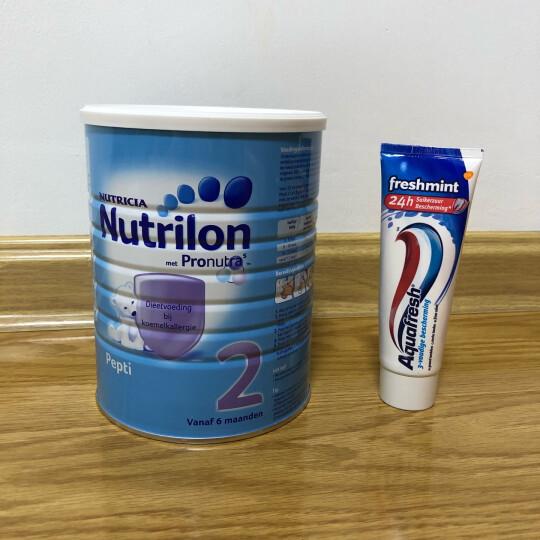 诺优能牛栏(Nutrilon) 【单罐包邮包税】荷兰pepti 2段800g 抗过敏蛋白深度水解奶粉 晒单图