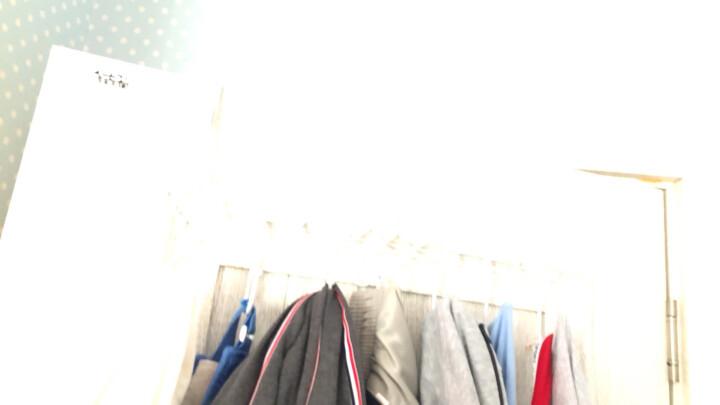 凤全创意铁艺门后挂钩无痕粘钩 厨房衣架挂衣钩衣服壁挂免钉衣挂 白色(中国结) 晒单图