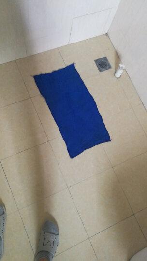 普兰迪 超细高质纤维洗车毛巾  吸水毛巾  擦车巾 毛巾60*160+海绵 晒单图