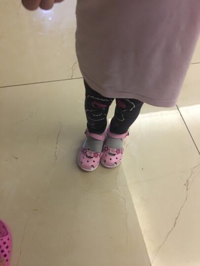 迪士尼夏新宝宝鞋子软底学步凉鞋女童鞋幼儿童公主鞋小孩包头凉鞋 XZCS0991粉色 160mm/内长165mm 晒单图