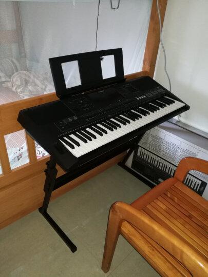 雅马哈(YAMAHA) 雅马哈电子琴61键成人儿童考级演奏娱乐用琴 PSR-E463升级版E453+琴架耳机琴罩大礼包 晒单图