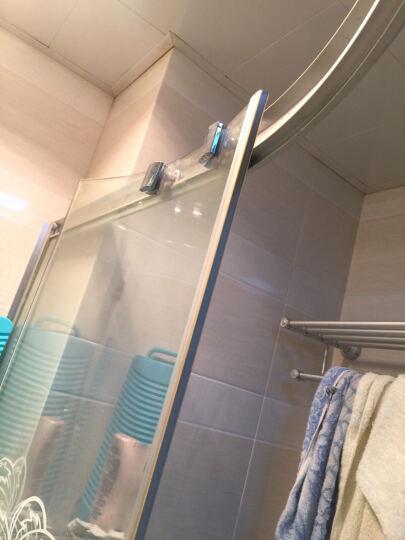 金凯欧 淋浴房双滑轮 淋浴房弹跳轮 淋浴房配件 浴室门滑轮 淋浴房摇摆轮 一扇门2套 晒单图