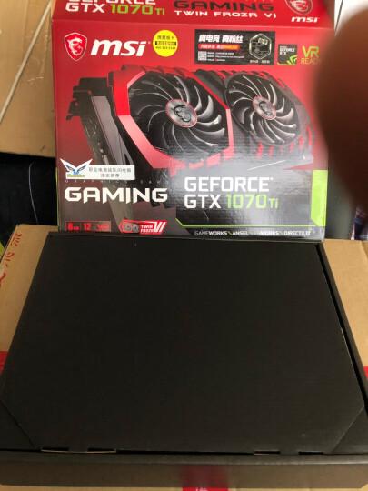 微星(MSI)GeForce GTX 1070 Ti GAMING 1607-1683MHZ 256BIT 8GB GDDR5 PCI-E 3.0 旗舰红龙 吃鸡显卡 晒单图