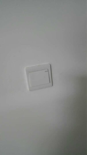 德力西 墙壁电源开关插座套餐  820白五孔开关空调网络面板  白色 二位音响 晒单图