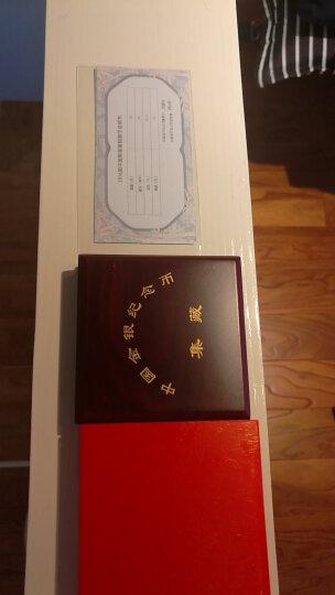 上海集藏 中国金币2013年1盎司熊猫银币 红盒子包装 晒单图