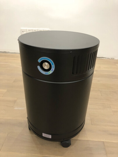 AllerAir欧乐加拿大进口空气净化器家用商用除甲醛防雾霾客厅办公室医院实验室别墅6000 V 空气净化器 黑色 晒单图