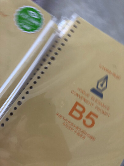 道林活页纸记事本活页替芯A5/20孔 B5/26孔 A4/30孔活页笔记本子内页芯 学生手账活页芯 A4-30孔-横线 晒单图