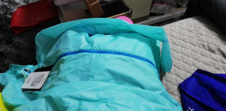 ALPINT MOUNTAIN 埃尔蒙特 户外防晒衣男女UPF40+ 皮肤衣防紫外线风衣透气 女款粉蓝 M 晒单图