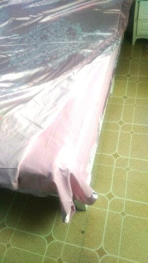 碧驰家纺 床上四件套 床品套件全棉贡缎提花纯棉套件 婚庆床上用品1.8米床 广岛之恋(白色) 适用1.5-1.8米床 被套200x230cm 晒单图