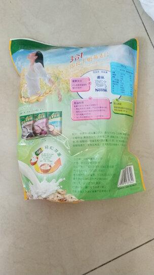 雀巢(Nestle)怡养中老年燕麦片金装高纤2合1 350g 晒单图
