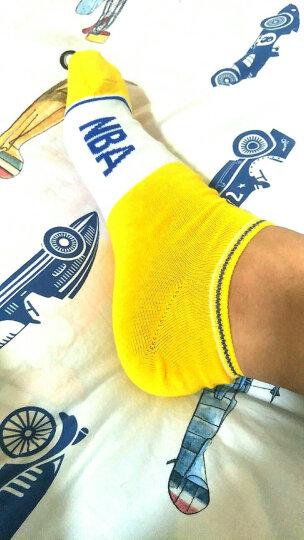 NBA袜子 男士精梳棉浅口隐形船袜 春夏薄款低帮短袜运动袜 6双装 晒单图