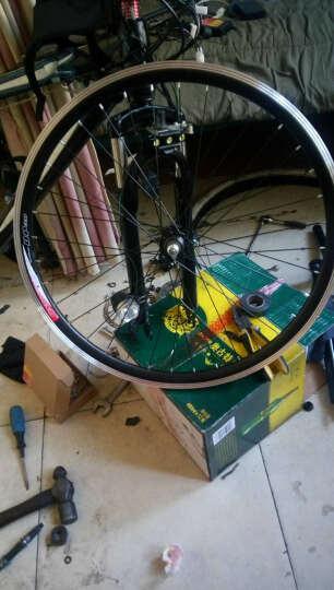 24寸26寸山地自行车铝合金轮组车圈 36孔碟刹V刹花鼓30V刹车圈 24寸后轮 晒单图
