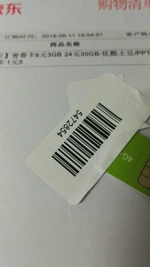【北京号卡】青春卡9元3GB 24元30GB-优酷土豆/PPTV/爱奇艺-双切卡 1元500M 晒单图