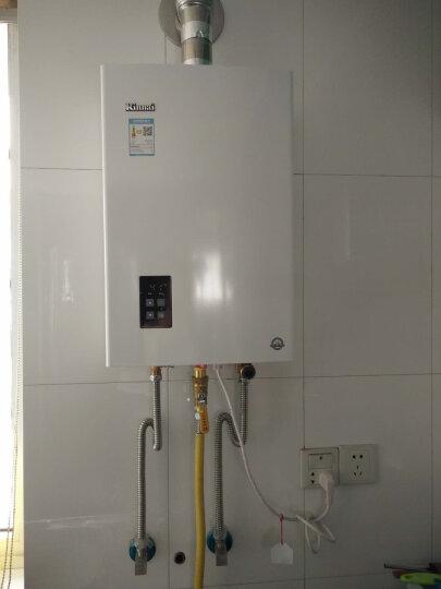 林内(Rinnai)12升智能精控恒温 CO安防 燃气热水器 RUS-12E22CWNF(天然气)(JSQ24-22C) 晒单图