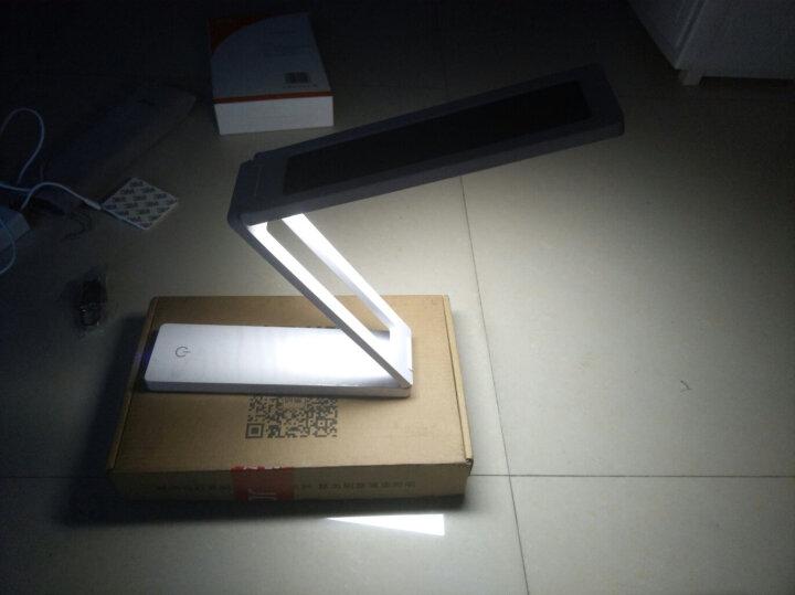 铜雀 台灯太阳能大容量充电宝折叠便携式护眼灯学生学习阅读LED应急灯具 9000毫安时容量-不带太阳能款 晒单图