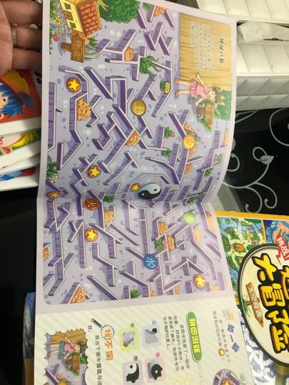 全6册 迷宫大冒险 幼儿视觉游戏书 儿童迷宫书4-7岁宝宝绘本逻辑思维训练 走迷宫图书 晒单图