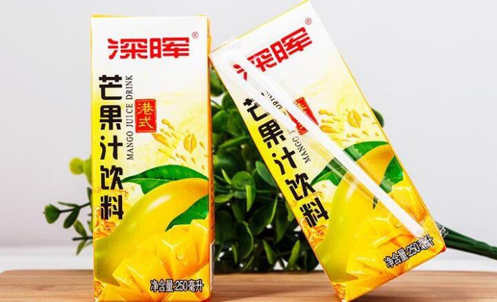 深晖 芒果汁饮料 港式 250毫升*24盒 晒单图