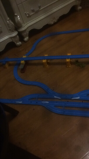 FenFa越诚 托马斯小火车玩具 大型音乐电动轨道车套装 138件礼盒装-4车头8车厢 晒单图