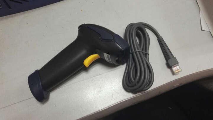 中崎(ZONERICH) ZQ-LS6025超市收银有线扫描枪条形码扫码枪快递专用扫描器 深灰色 USB口 晒单图
