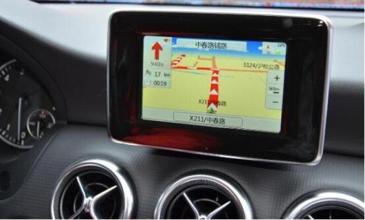 奔驰GLC GLA200 BC200L E260 A180 GLK300原车升级地图导航卡 奔驰单独升级 导航+轨迹+倒车影像+隐藏行车记录仪 晒单图