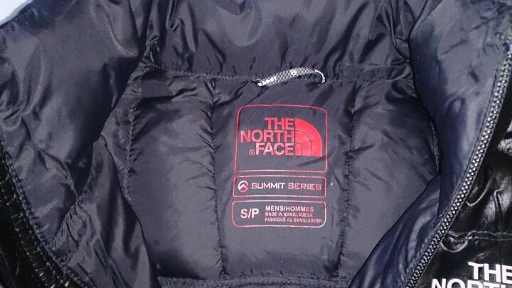 The North Face/北面 男款900蓬羽绒服A54Q 欧版 KX7黑色 XL/180/92A 晒单图