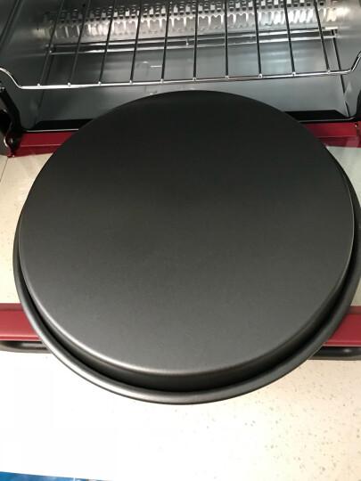 千团精工 烘焙模具深口不沾8寸披萨盘不粘烤盘圆形烘焙Piazz盘比萨盘 晒单图