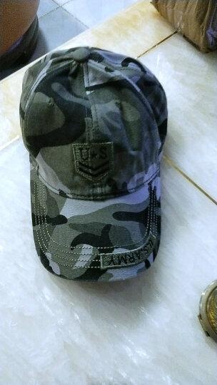 开妮特(Kenniter)帽子男夏户外休闲棒球帽迷彩防晒遮阳帽605 US迷彩 晒单图