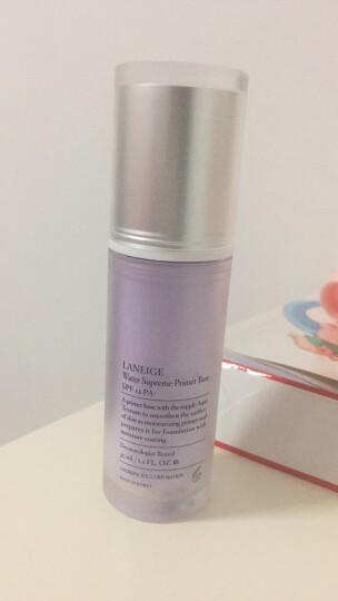 兰芝(LANEIGE)水漾隔离乳SPF12/PA+ NO.40(紫色)35ML(防晒 保湿补水) 晒单图